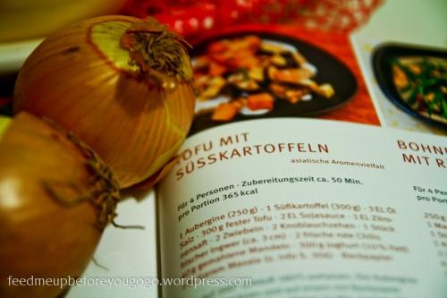 Tofu mit Süßkartoffeln Kochbuch Rezept