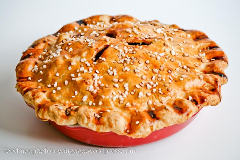American Pie Amerikanischer Apfelkuchen Mit Walnussen Feed Me Up