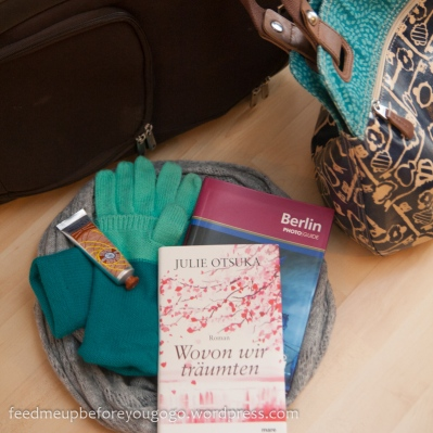 Tasche packen: Wovon wir träumten, Handschuhe, Handcreme