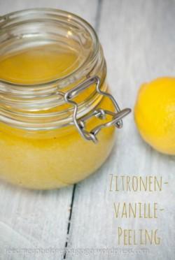 Zitronen-Vanille-Peeling