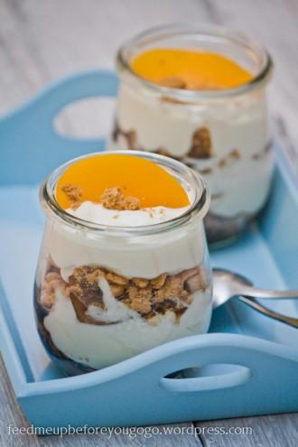 Pfirsich-Trifle