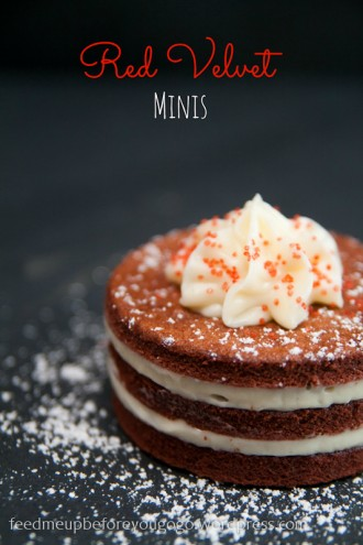 Red Velvet Mini cakes-5