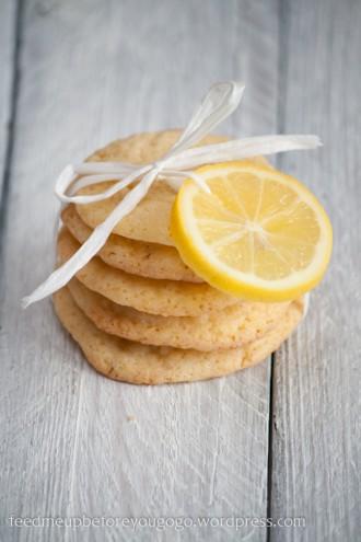 Zitronenkekse mit Vanille und weißer Schokolade-1