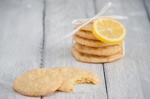 Zitronenkekse mit Vanille und weißer Schokolade-2