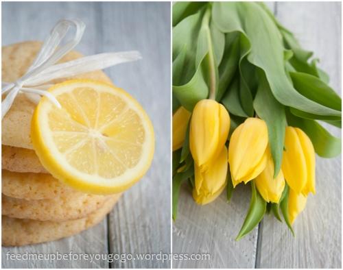 Zitronenkekse mit Vanille und weißer Schokolade-3