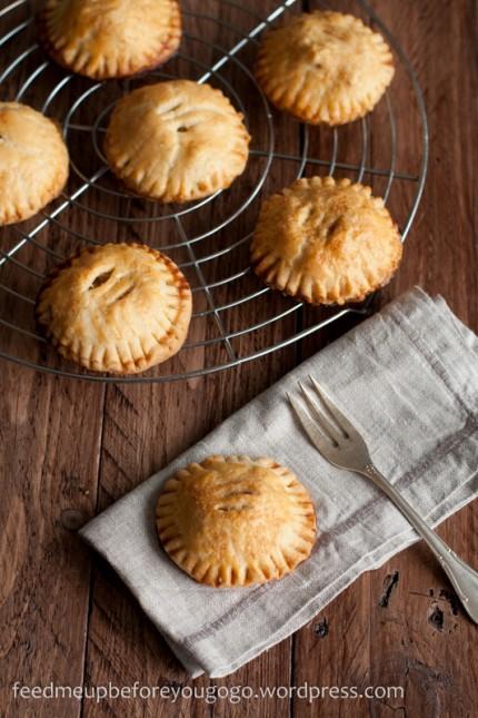 Hand Pies mit Birnen-Amaretto-Füllung-1