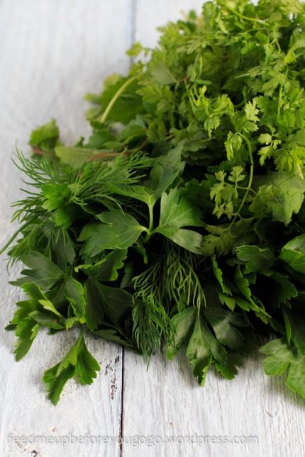 Grüne Soße mit Pellkartoffeln-1
