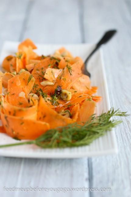 Möhren-Haselnuss-Salat mit Dill-1