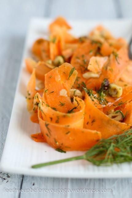 Möhren-Haselnuss-Salat mit Dill-2