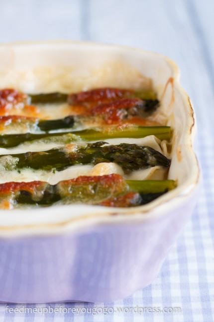 Spargel-Spinat-Lasagne-3