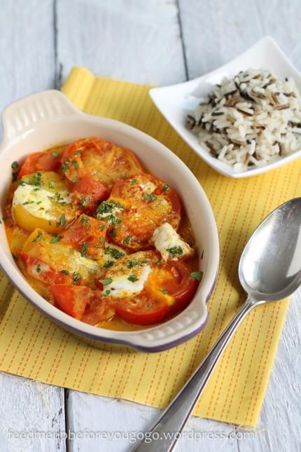 Tomaten mit Kokos und Chili Nigel Slater Tender Gemüse-1