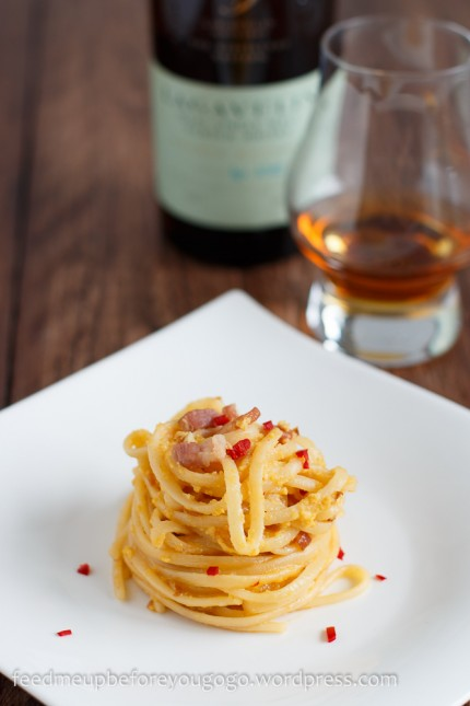 Lagavulin Whisky Scottish Carbonara-2