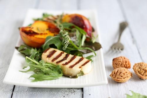 Pfirsich-Halloumi-Salat-3