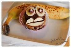 Blogparade: Blogg den Suchbegriff: Banenen Gesichter Muffins - vegan!