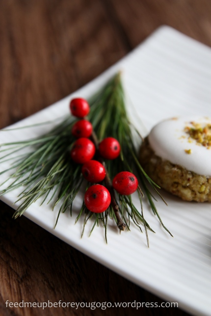 Pistazien-Baiser-Plätzchen Weihnachtsplätzchen Rezept feed me up before you go-go-2