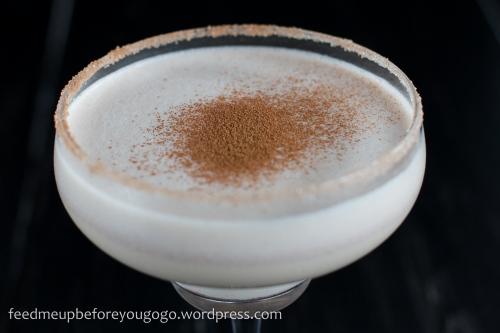 Rum Amaretto Weihnachts Nogg Cocktail-2