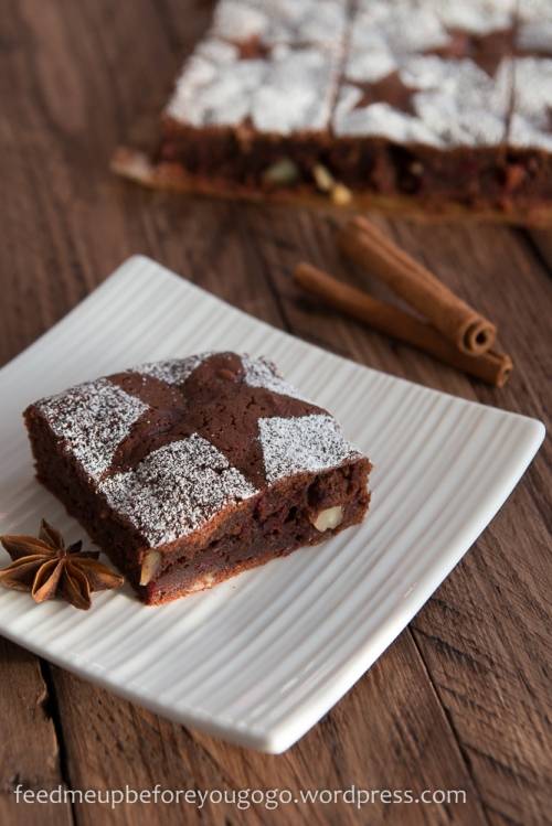 Glühwein-Brownies mit Roter Bete Rezept Feed me up before you go-go-1